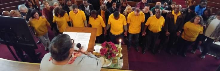 Liberia Mission team dedication (1)